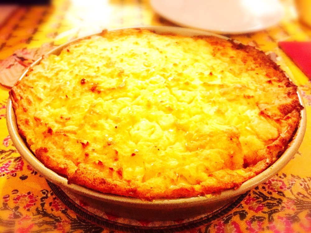 Potatoes pie